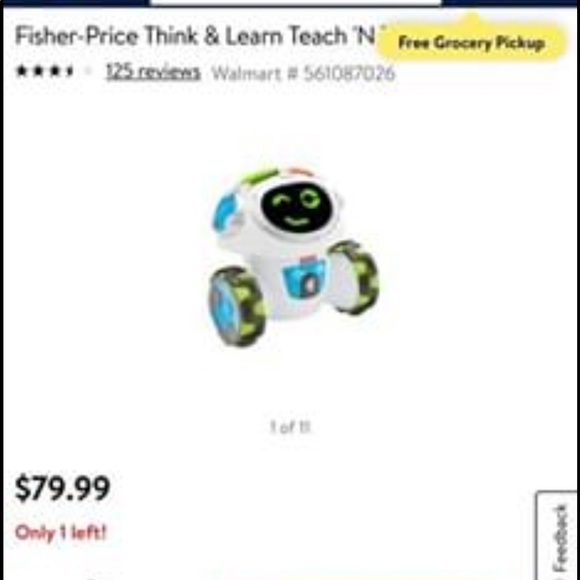 Fisher Price Toys Fisher Price Think And Learn Teach N Tag Movi Poshmark